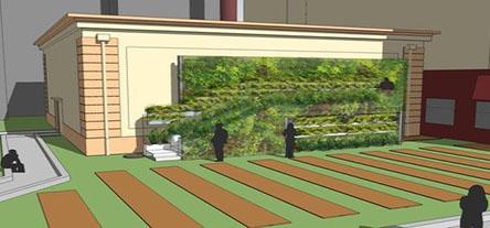 Tenderloin Vertical Garden